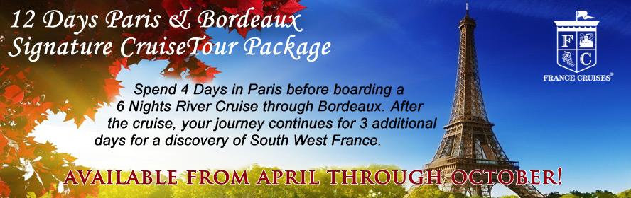 France Cruises Paris & Bordeaux Group Tour
