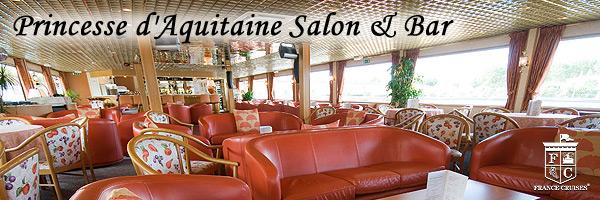 MS Princesse d'Aquitaine Salon & Bar
