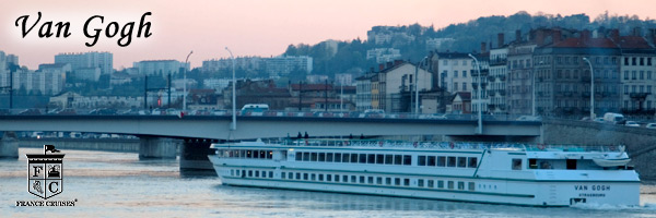 MS Van Gogh at Sunset by France Cruises