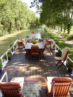 Emma hotel barge cruising