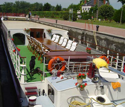 Panache hotel barge