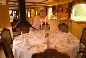Renaissance dining room