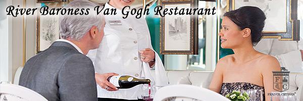 Van Gogh Restaurant aboard River Baroness