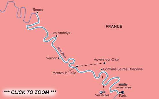 France Cruises Parisian Winter Holiday