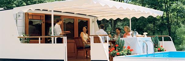 7 Days Burgundy Hotel Barge Cruise