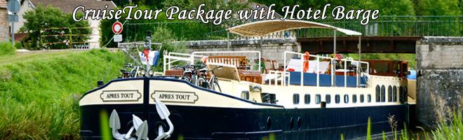 Hotel Barge Cruise aboard Randle