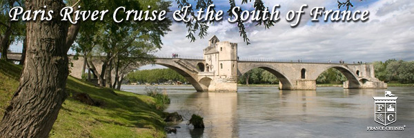 Paris River Cruise & the South of France with France Cruises