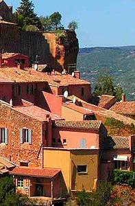 Roussillon Hilltop Village