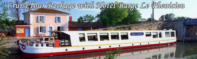 Le Phenicien Hotel Barge Cruise