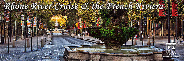 Rhone River Cruise & the French Riviera