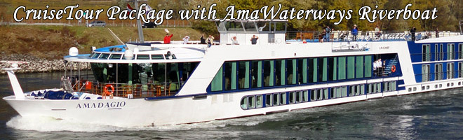 AmaWaterways Riverboat cruise on the Rhone